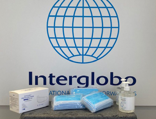 INTERGLOBO DONATES SANITARY MATERIAL TO A HOSPITAL IN VALENCIA