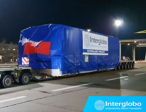 SHIPMENT OF A TURBINE FROM SWEDEN TO CROATIA