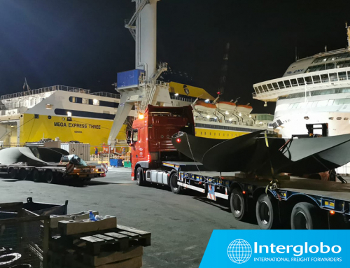 SHIPMENT OF PROPELLERS FROM MARSEILLE TO GENOA
