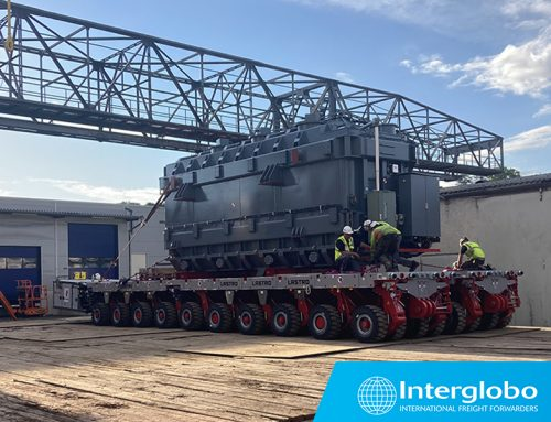 SHIPMENT OF A TURBINE, GENERATOR, TRANSFORMER AND ROTOR FROM NAPLES AND GENOA TO GERMANY